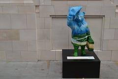 Paddington Bear statue Royalty Free Stock Photos