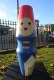 Paddington Bear. Statue in London Stock Image