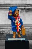 Paddington björn Arkivbild