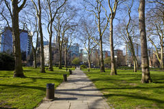 Paddington Green in London Stock Photo