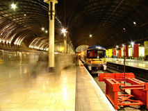 Paddington railway station. Royalty Free Stock Image