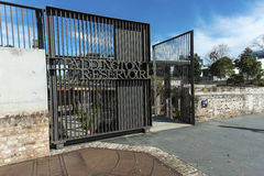 Paddington Reservoir gates. The gates to Paddington Reervoir this is the old water storage place that supplied water to Sydney around 100 years ago Royalty Free Stock Photography