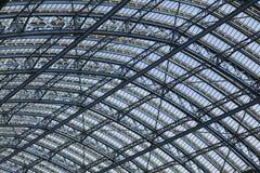 Paddington, roof. Wrought iron roof structure of Paddington railway station Royalty Free Stock Image
