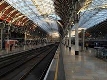 Paddington staci platformy zdjęcie stock