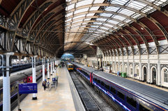 Paddington station, london. Interior view of Paddington Railway Station, London, United Kingdom Stock Image
