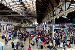 Paddington station, london, England Royaltyfria Bilder
