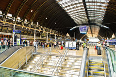 Paddington Train Station Stock Photo