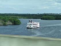 Paddle łódź Zdjęcia Royalty Free