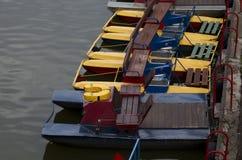 Paddle łodzie Zdjęcia Stock
