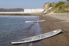 Paddle Away Stock Photo