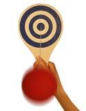 Paddle Ball Stock Image