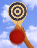 Paddle Ball Royalty Free Stock Photos