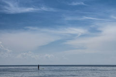Paddle Boarding Royalty Free Stock Images