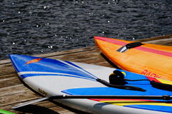 Paddle boards Royalty Free Stock Photography