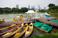 Paddle boat Stock Image