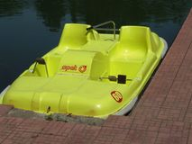 Paddle boat Stock Images