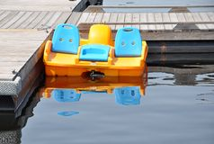 Paddle boat Royalty Free Stock Photos