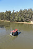 Paddle boat. A paddle boat on the Murray River at Echuca, Victoria, Australia royalty free stock photography