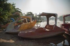 Paddle boat Stock Photos
