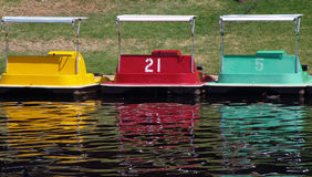Paddle Boats Royalty Free Stock Photos