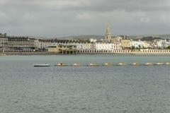 Paddle boats at Weymouth, Dorset Royalty Free Stock Image