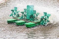 Paddle koła przewietrznik, zbliżenie Fotografia Royalty Free