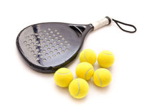 Paddle objects Stock Image
