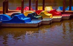 Paddle łodzie Obrazy Stock