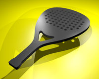 Paddle racket Stock Image