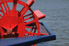 paddle riverboat koło Obrazy Royalty Free
