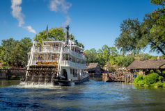 Paddle Ship, Magic Kingdom Royalty Free Stock Photo