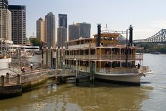 Paddle-Steamer Royalty Free Stock Photos