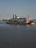 Paddle steamer. On Mississippi River New Orleans Royalty Free Stock Image
