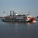 Paddle steamer Stock Images