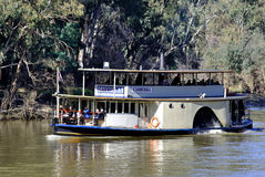 Paddle Steamer CANBERRA, Port of Echuca, Victoria, Australia Stock Image