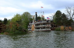 Paddle steamer Royalty Free Stock Photos