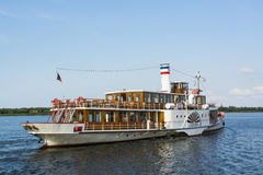 Paddle steamer Freya Royalty Free Stock Photos