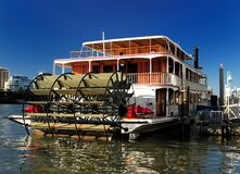Free Paddle Steamer Kookaburra Queen On Brisbane River Queensland Australia Royalty Free Stock Photos - 171374898