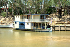 Paddle steamer on the murray Royalty Free Stock Photography