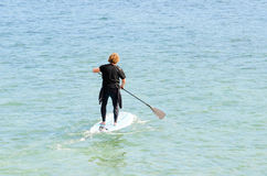 Paddle surf Stock Images
