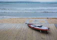 Paddle surfboard Royalty Free Stock Photos