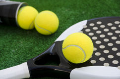 Paddle Tennis background Stock Images