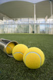 Paddle tennis court Royalty Free Stock Photography