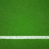 Paddle tennis green hard court texture. With white line can use as soccer or badminton background Royalty Free Stock Photography