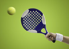 Paddle tennis Royalty Free Stock Images