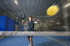 Paddle tennis master Stock Images