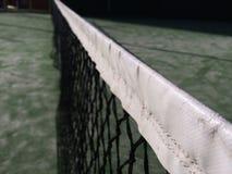 Paddle tennis net. Close up Stock Photos