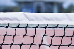 Paddle tennis net Royalty Free Stock Photo