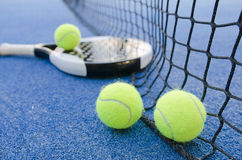 Paddle tennis still life Royalty Free Stock Photography