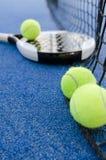 Paddle tennis still life Stock Image